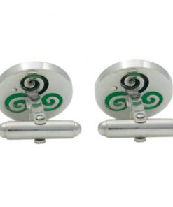Growing Home Cufflinks - back - by Tracy Gilbert Designs