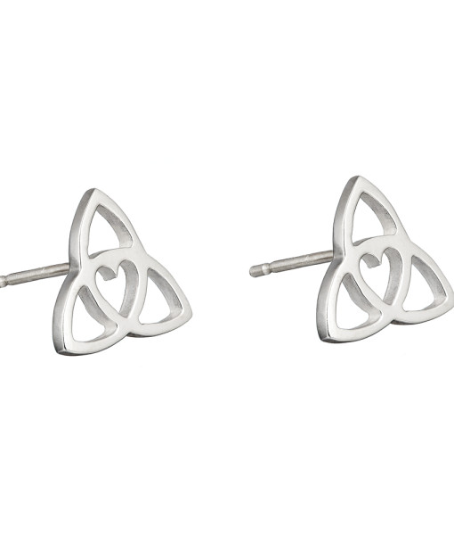 Celtic Heart Stud earrings - Tracy Gilbert Designs