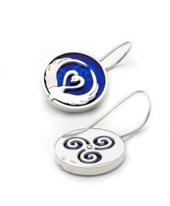 Children of Lir - drop earrings