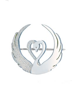 Children of Lir brooch - Tracy Gilbert Designs