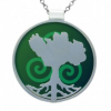 Growing Home Pendant - Green by Tracy Gilbert Designs