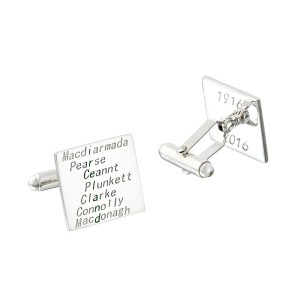 1916 Collection cufflinks - green