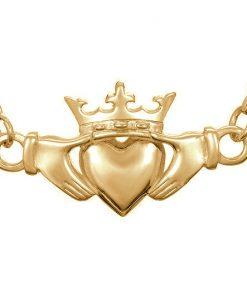 Claddagh pendant - TG_Gold