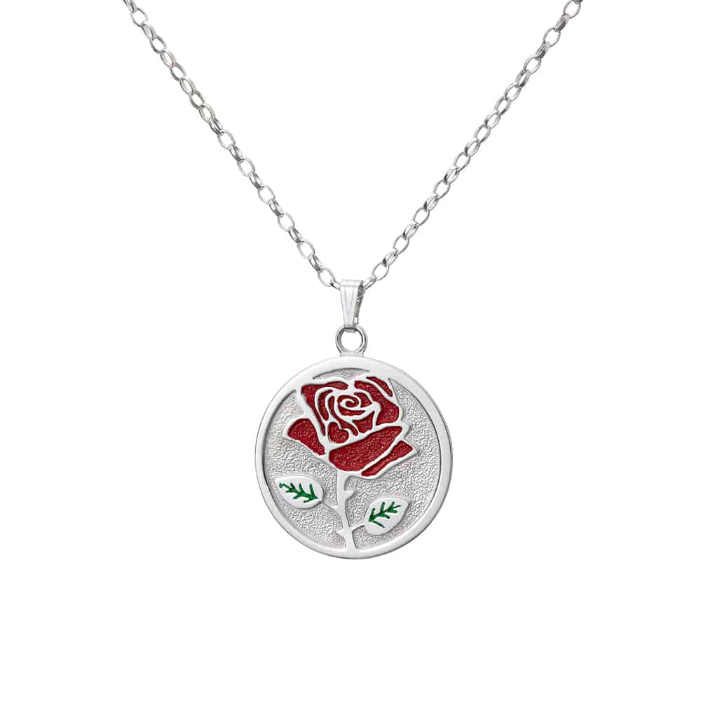 Wild Rose coloured pendant by Tracy Gilbert Designs