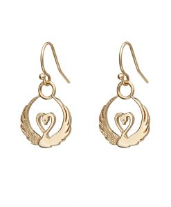 children-of-lir-gold-drop-earrings