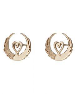 children-of-lir-gold-stud-earrings