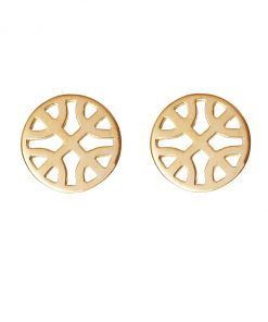 Celtic Knot round earrings