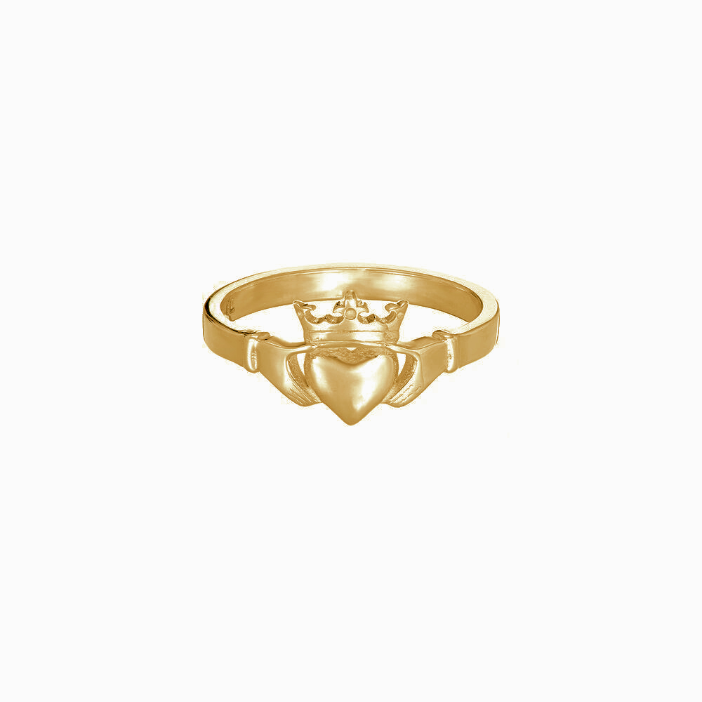 Claddagh Ring - Gold by Tracy Gilbert Designs