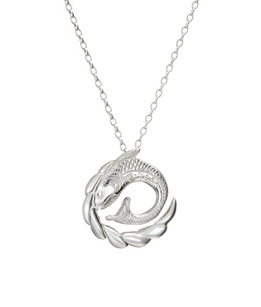 Salmon of Knowledge Pendant by Tracy Gilbert Designs