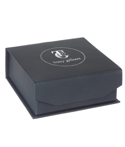 Tracy Gilbert Designs branded jewellery box