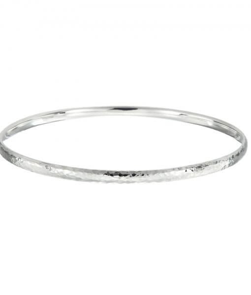 Hammered Bangle, Tracy Gilbert Designs