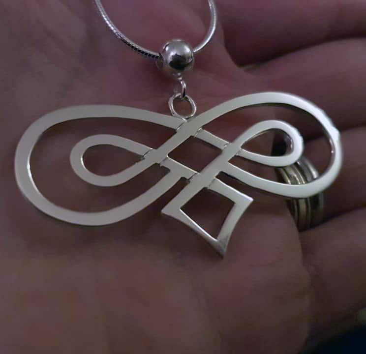 Celtic Double Infinity Pendant
