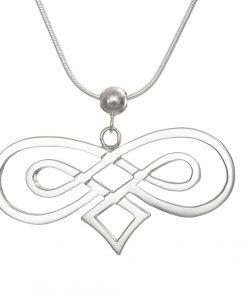 Go Síoraí Double Infinity Pendant large
