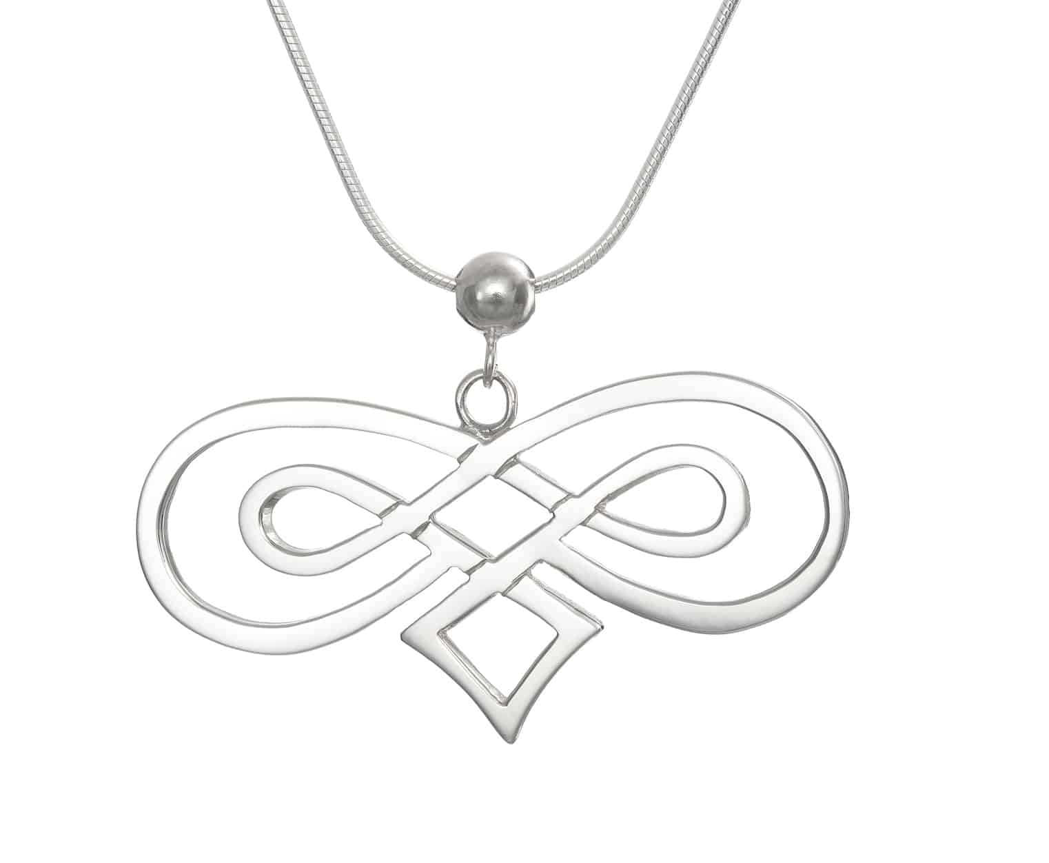 Celtic double infinity pendant tracy aloadofball Image collections