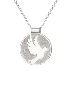 Confirmation pendant by Tracy Gilbert