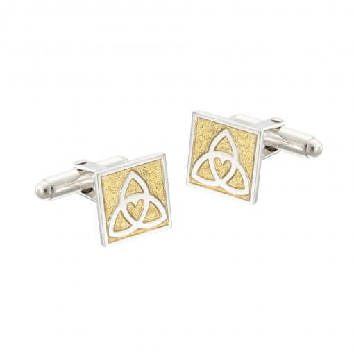 Celtic Heart cufflinks by Tracy Gilbert Designs