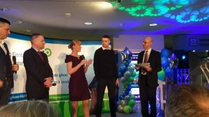 Tracy Gilbert at the Fingal Enterprise Awards