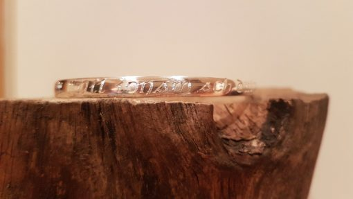 Irish engraved bangle - Tracy Gilbert