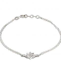 Claddagh with Irish Crown Bracelet by Tracy Gilbert Designs