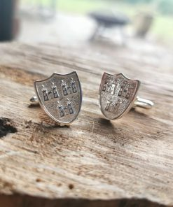 Dublin Crest Cufflinks by Tracy Gilbert Designs