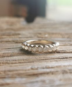 Diamond Eternity Ring by Tracy Gilbert Designs