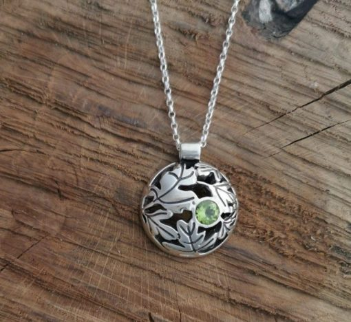 Hawthorn Dome Pendant by Tracy Gilbert Designs