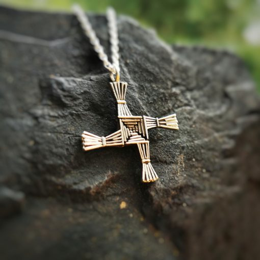 St. Bridget's Cross by Tracy Gilbert Designs