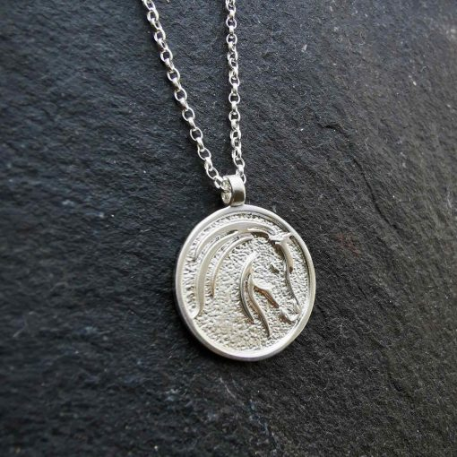 Horse Pendant by Tracy Gilbert Designs